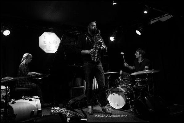 Christine Wodrascka, Dave Rempis, Peter Orins;  Un Pavé dans le Jazz 02/02/2018