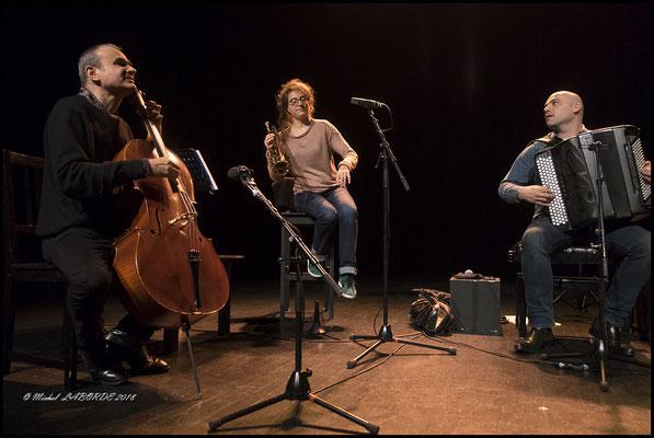 Quarteto Gardel; Salle Nougaro 11/4/2018