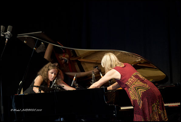 Betty Hovette, Christine Wodrascka; Jazz à Luz 12/07/2018