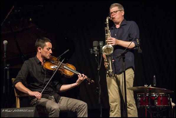 Franz Loriot, Antoine Chessex; Jazz à Luz 14/07/2018