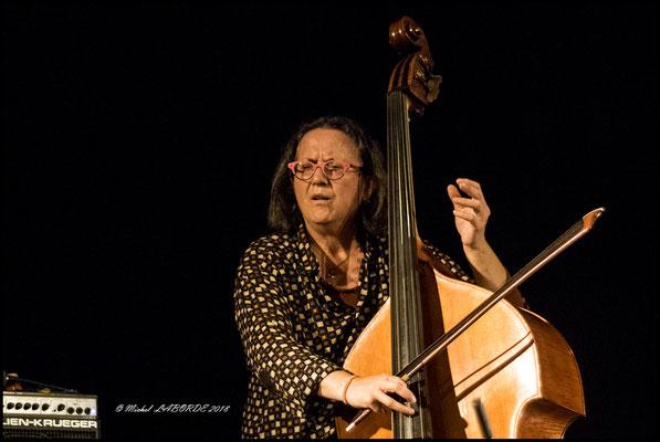 Joëlle Léandre,  Jazzdor Strasbourg 13/11/2018