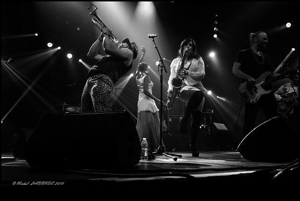 Brooklyn Funk Essentials; chapiteau Marciac 11/08/2018