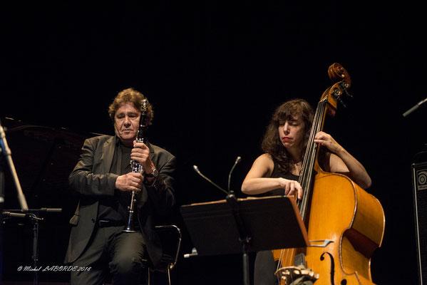 Louis Sclavis, Sarah Murcia, Jazzèbre Perpignan, 12/10/2018