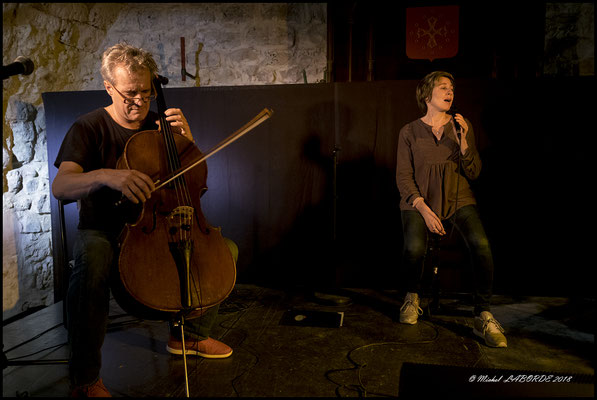 Didier Petit, Claudia Solal, Jazzèbre Perpignan, 06/10/2018