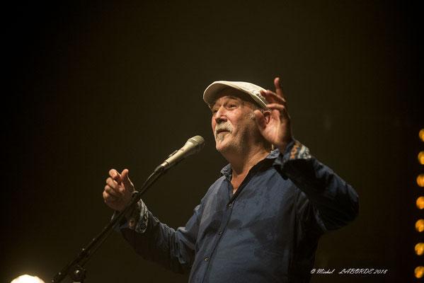 André Minvielle, Jazzèbre Perpignan, 13/10/2018