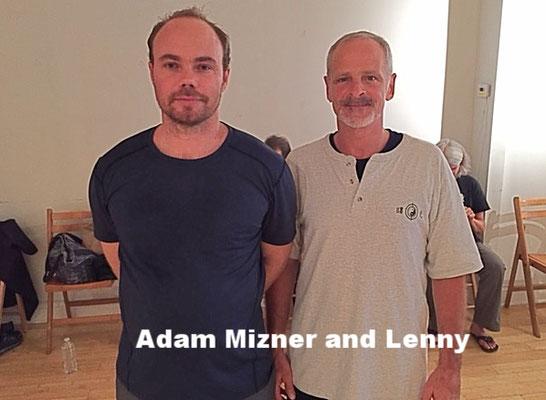 Adam Mizner and Lenny