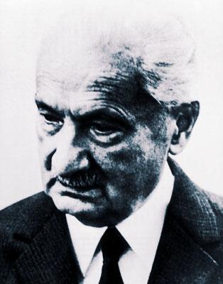 Martin Heidegger (1889-1976)