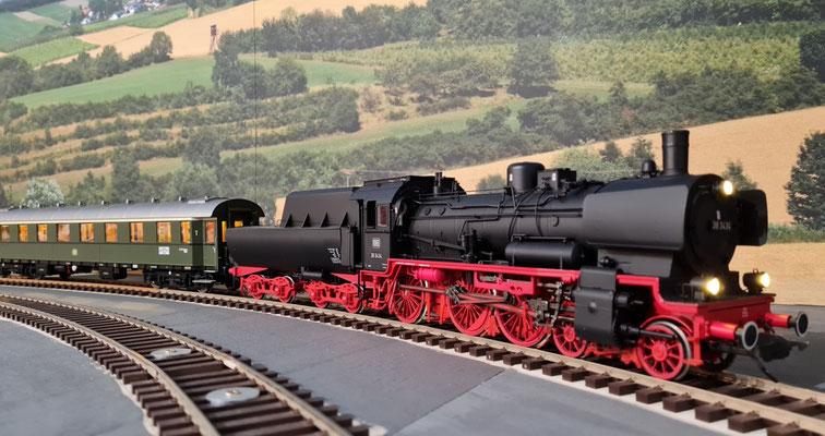 D29 - auch an der Lok ein schönes Bild