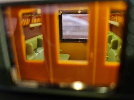 D29 - Abteilansicht von der Gangseite