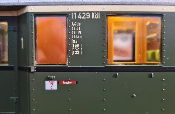 D29 - Beschriftungsansicht (Bild auch etwas unscharf)