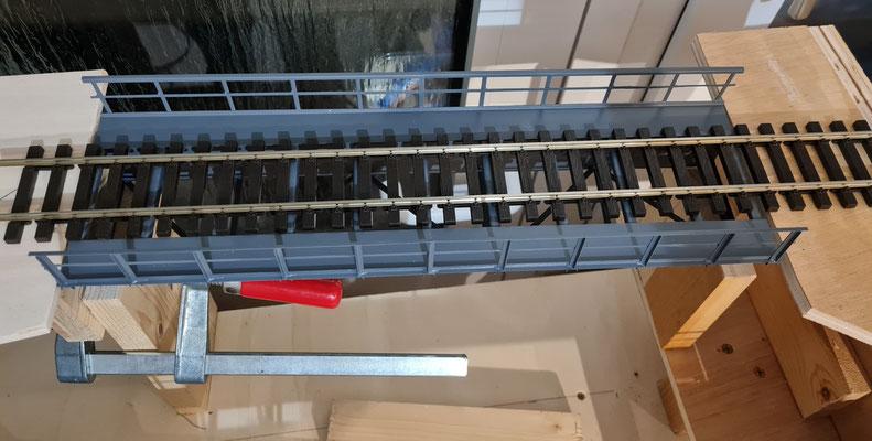 Ansicht 5 der Einbauphase für die hintere Brücke