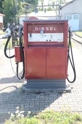 Tankstelle Sommer 2019