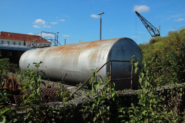 Tank 2019, doch gehört der zur Tankanlage? Nicht bekannt.