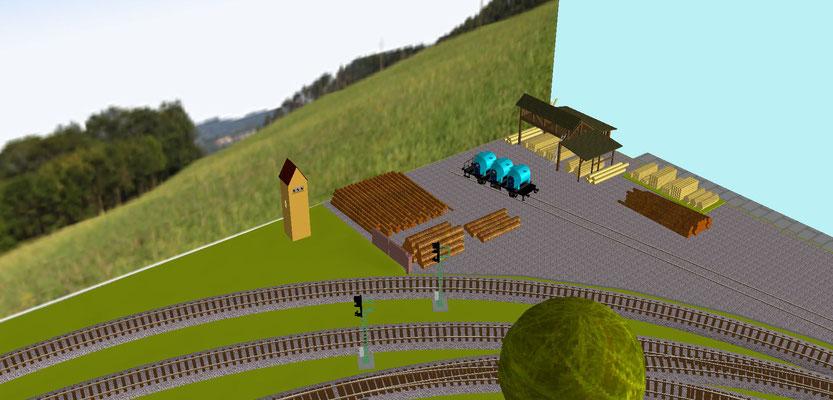 Holzplatz
