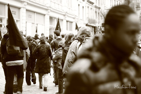 Manif Anti répression 2011 Poitiers
