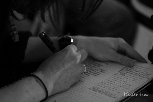 Vivre de l'écriture ou écrire sa vie...