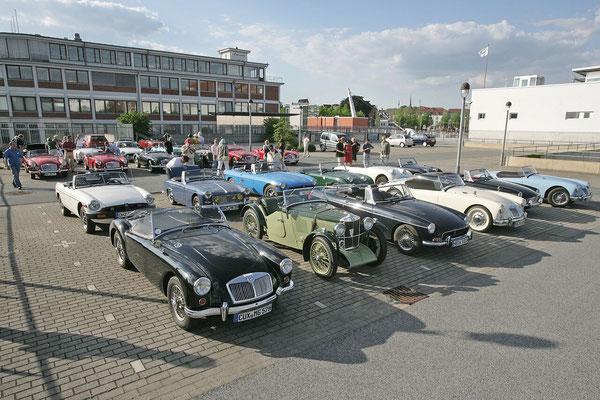 Bremen-Vegesack - Teilnehmer am 25. Jubiläum MG-Stammtisch Bremen