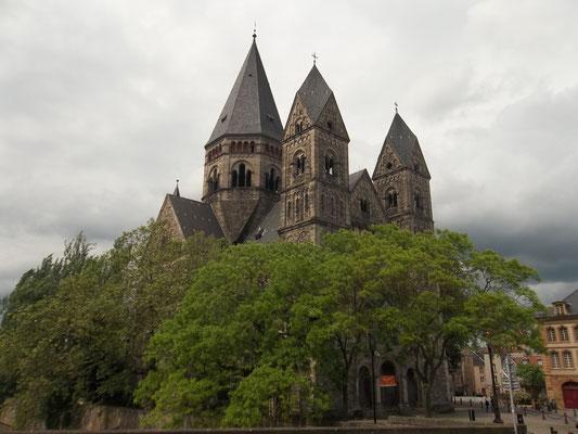 protestantische Kirche in Metz