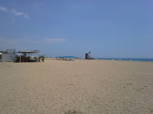 Geburtstagsfeiertag am Strand