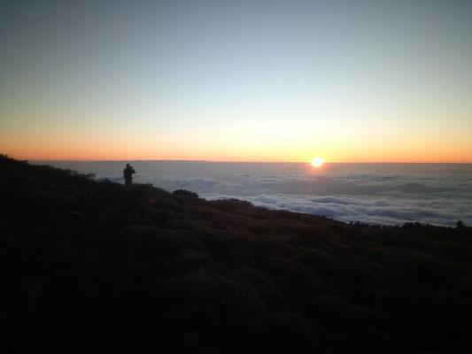 Sundowner auf 2000m