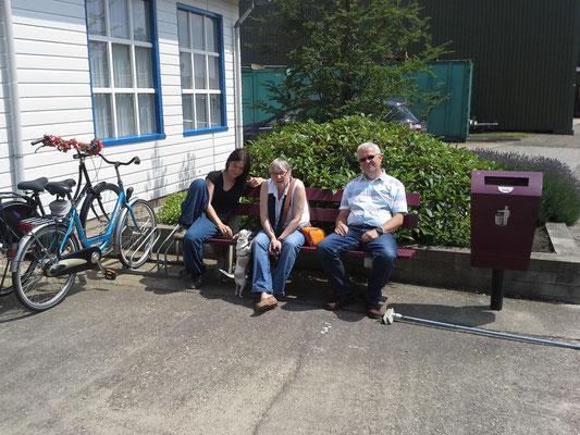 Elke, Bernd (und Lilly)...die stolzen Vorbesitzer, die uns den Einstieg unheimlich erleichtert haben !