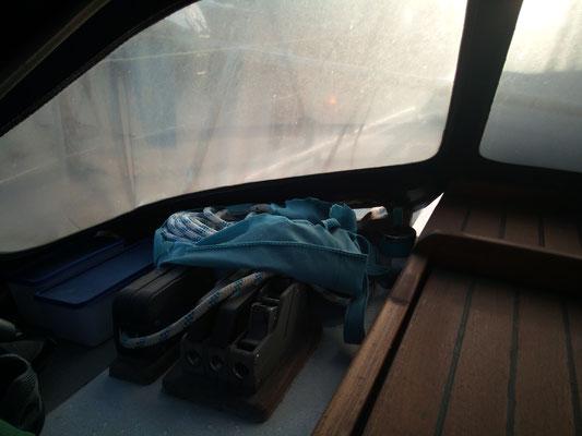 Stofftaschen gegen Witterung =