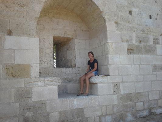 aber auch eine sehr schöne Stadtmauer mit Platz zum vespern