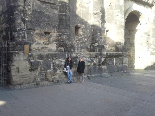 Mama und Schwiegermama verlässt uns bei Trier wieder , schön, dass du dabei warst !