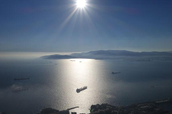 Blick in die Bahia de Algeciras