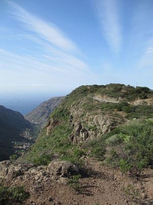Auf dem Weg ins Valle Gran Rey