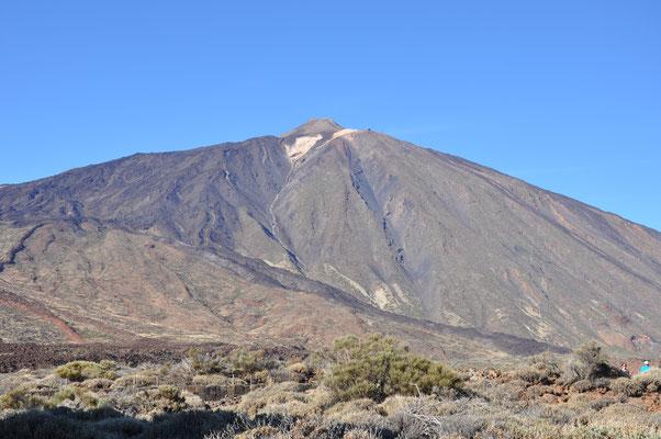 der Teide aus 2100m Höhe