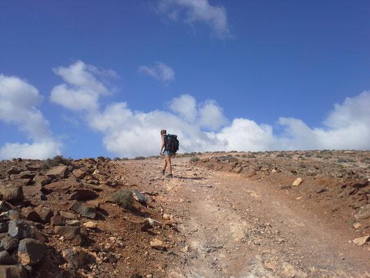 Wandern zum Pico de Zarza