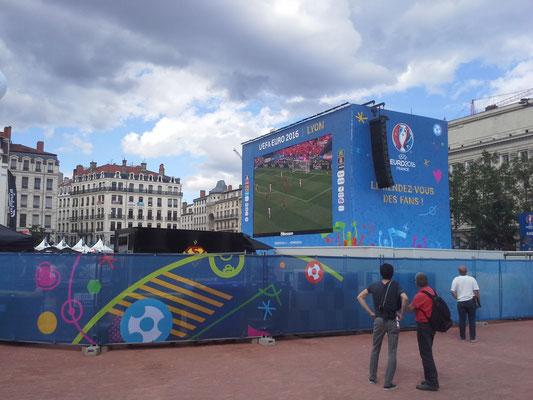 Fanmeile Lyon