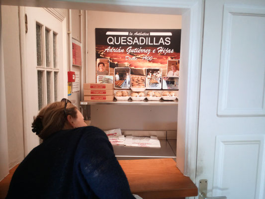 ausser in der Quesadilla-Fabrik