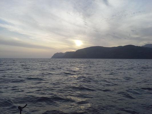 das letzte Kap vor dem Ziel auf Fuerteventura