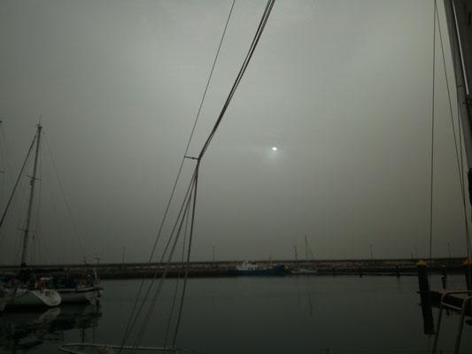 Sonnenaufgang bei Calima