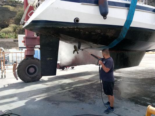 la hidrolavadora