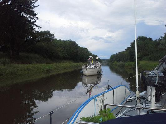 unterwegs mit der Sail Away
