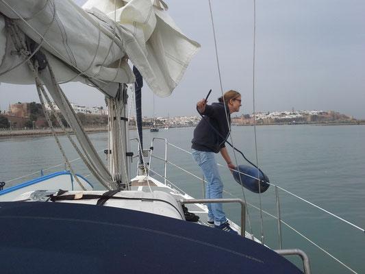 Ausfahrt aus Rabat