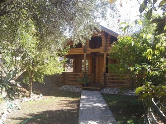 unsre Hütte im Gebirge