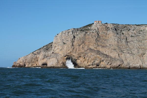 Cabo Espichel von Süd