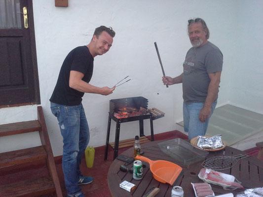 dann eben Barbecue