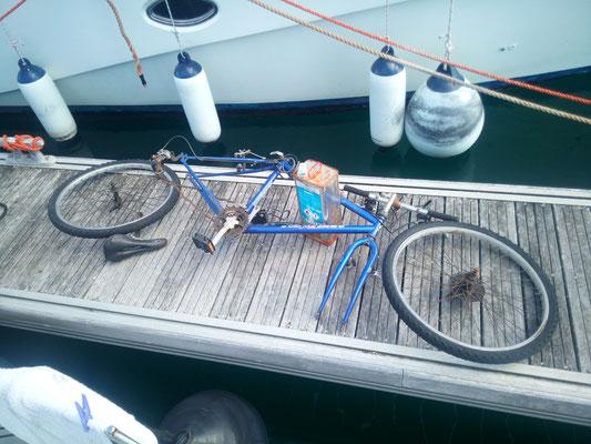 Bike aus der Backskiste