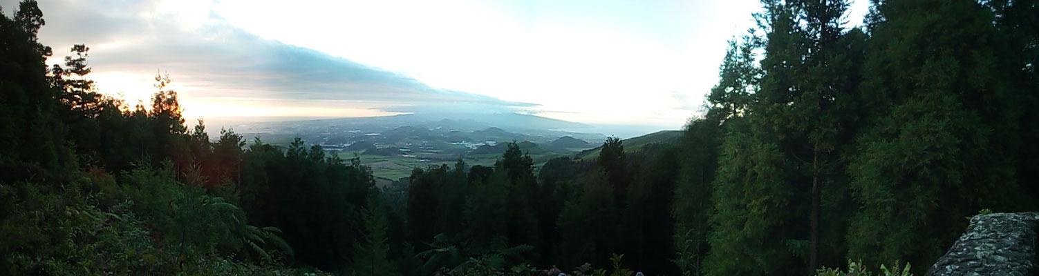 Sao Miguel von weiter oben