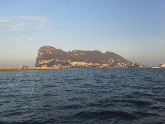 Gibraltar Rock - Westansicht