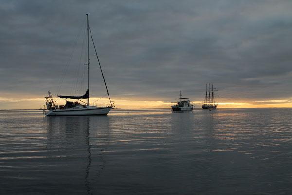 Ankern vor Isla Caleta