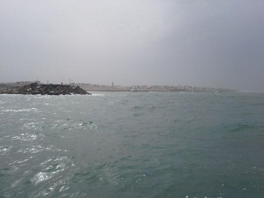 Hafeneinfahrt Rabat