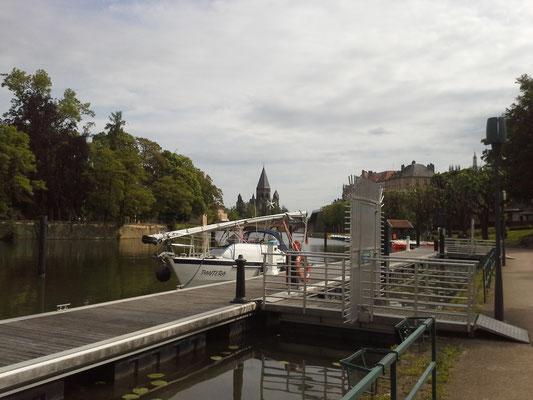 Metz-Hafen, beste Capitanerie überhaupt !