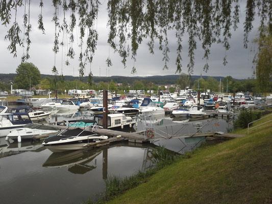 Schwebsange-Hafen (Lux), Suchbild - wo ist die Pantera ?