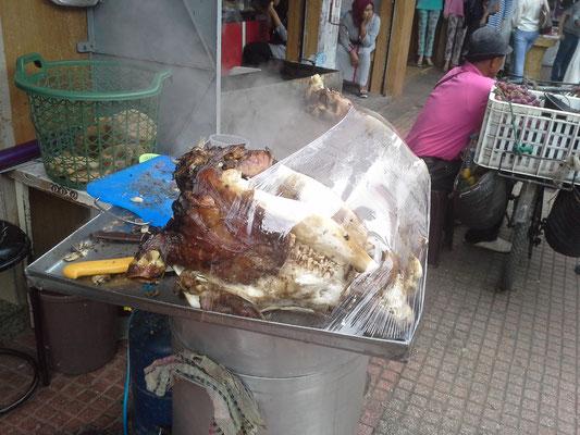 gekochter Rinderkopf so zum snacken ?